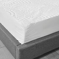 Sealy Luxury Knit Waterproof Stain-Release Mattress Protector