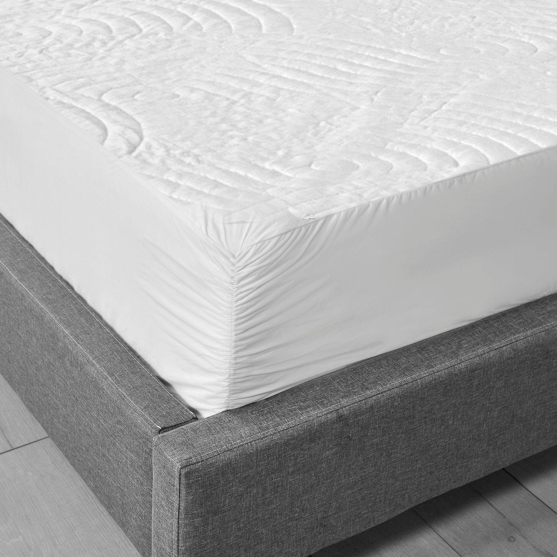 sealy luxury knit waterproof mattress protector