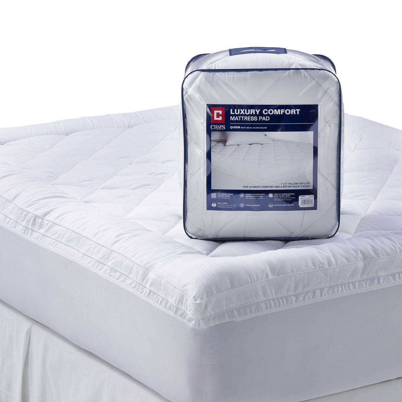 luxury comfort 300thread count deeppocket pillow top mattress pad