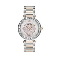 Juicy Couture Women's Luxe Couture Two Tone Stainless Steel Watch - 1901230
