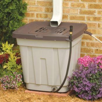 Suncast 50 Gallon Rain Water Barrel