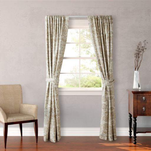 Stone Cottage Belvedere Window Curtain Pair - 54'' x 84''