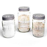 Cathy's Concepts 3-piece Personalized Mason Jar Sand Ceremony Set
