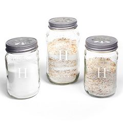 Cathy's Concepts 3 pc Personalized Mason Jar Sand Ceremony Set