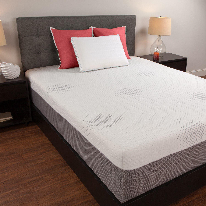 sealy 12inch memory foam mattress