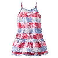 Toddler Girl OshKosh B'gosh® Poplin Stripe Floral Dress
