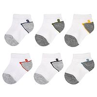 Baby Boy / Toddler Boy Jumping Beans® 6 pkColorblock Low-Cut Socks