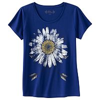 Girls 7-16 & Plus Size Mudd® Scoopneck Tee