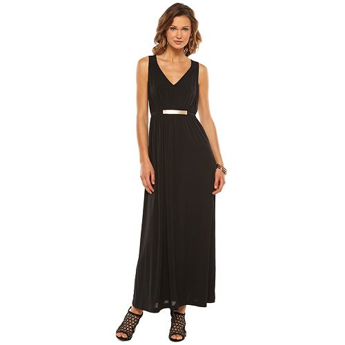 Women's Jennifer Lopez Empire Maxi Dress