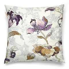Bombay™ Asian Flower 20'' x 20'' Throw Pillow