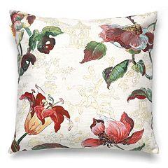 Bombay™ Asian Flower 20'' x 20'' Throw Pillow