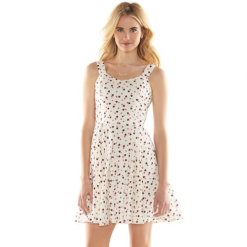 Disney's Minnie Mouse a Collection by LC Lauren Conrad Open-Back Print Dress - Women's
