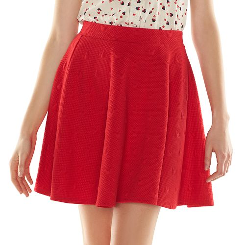 9981530e1aa Disney s Minnie Mouse a Collection by LC Lauren Conrad Quilted Skater Skirt  - Women s