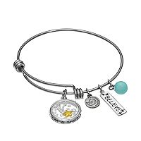 love this life Amazonite & Crystal Stainless Steel & Silver-Plated '