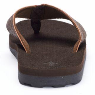 Vintage Stone Men's Solid Flip-Flops