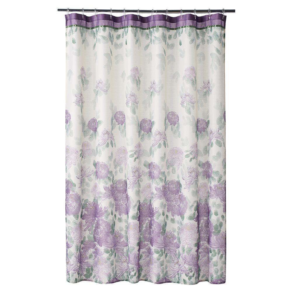 Classics® Francesca Fabric Shower Curtain
