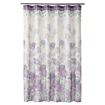 Home Classics® Francesca Fabric Shower Curtain