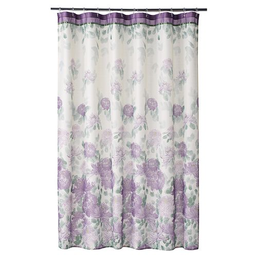 Home ClassicsR Francesca Fabric Shower Curtain