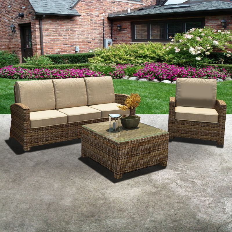 3 Pc Outdoor Furniture