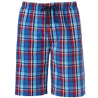 Men's Hanes Classics 2-pack Plaid Woven Jams Shorts