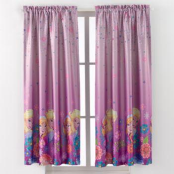 Disney's Frozen Breeze Room Darkening Window Curtain - 42'' x 63''