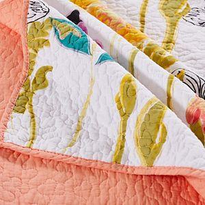 Watercolor Dream Reversible Quilt Set