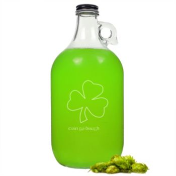 Cathy's Concepts St. Patrick's Day  64-oz. Beer Growler