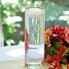 Cathy's Concepts Two Hearts Unity Candle