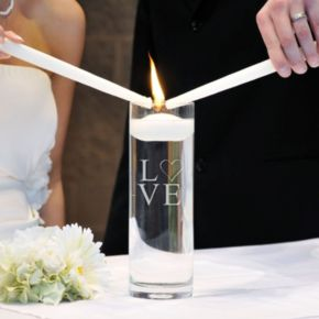 Cathy's Concepts Modern Love Unity Candle