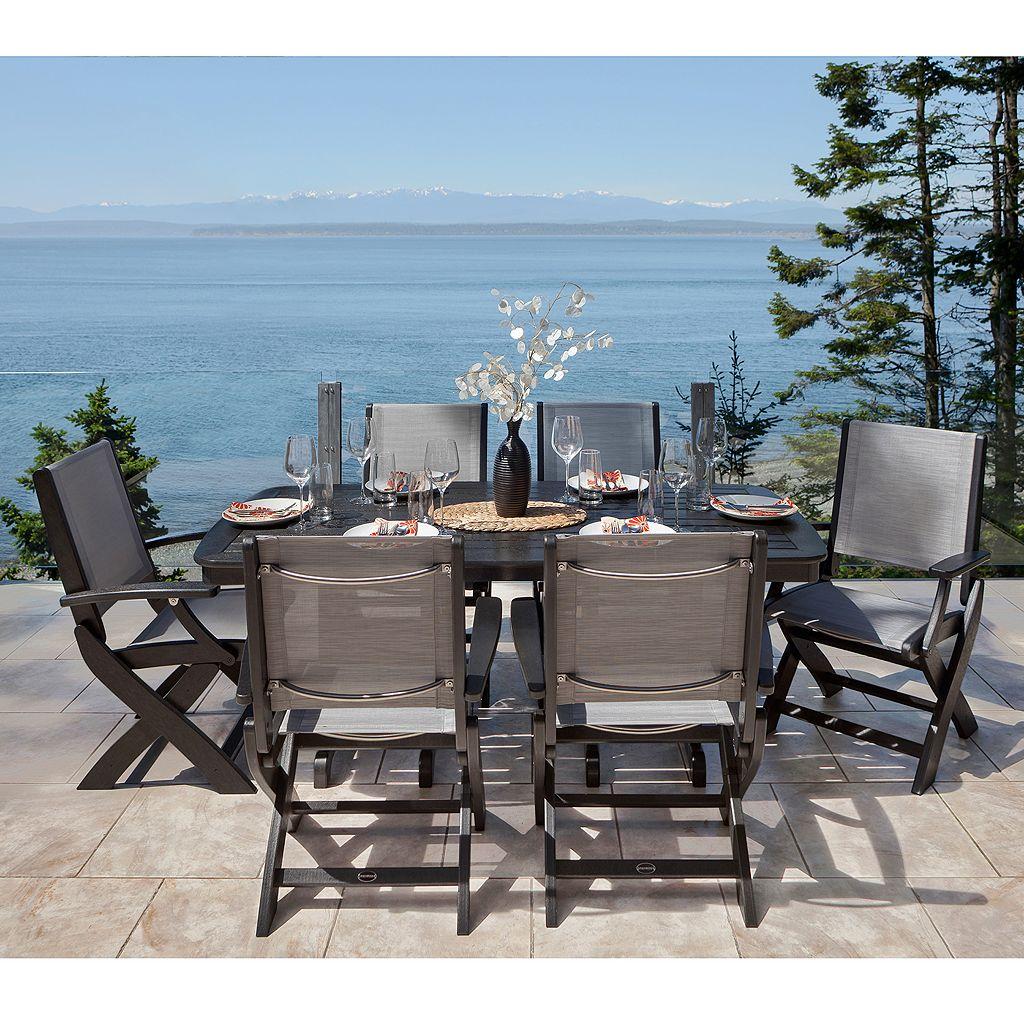 POLYWOOD Coastal 7-piece Outdoor Dining Set