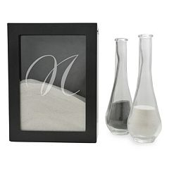 Cathy's Concepts 3 pc Personalized Sand Ceremony Shadowbox Set