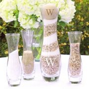 Cathy's Concepts 5 pc Personalized Sand Ceremony Unity Set