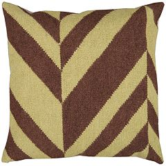Decor 140 Lyss Lima Bean Decorative Pillow - 18'' x 18''