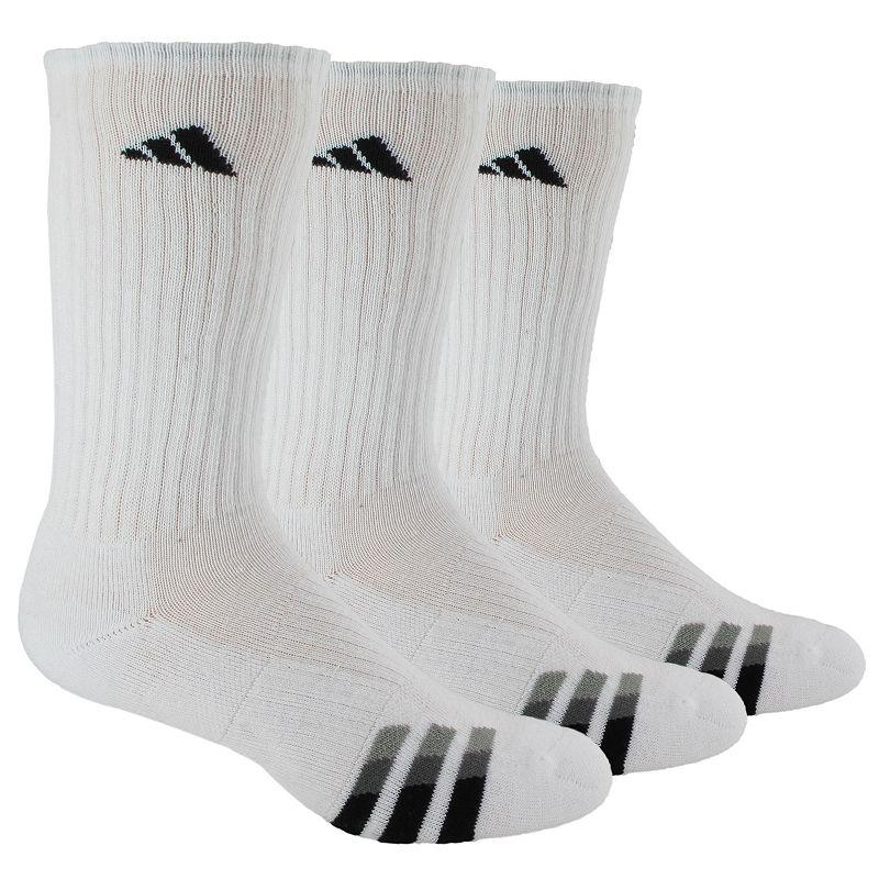 adidas 3-Pack Cushioned Crew Socks - Men