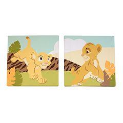 Disney's The Lion King 2 pkCanvas Wall Art