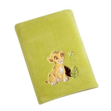 Disney's The Lion King Appliqued Coral Fleece Blanket
