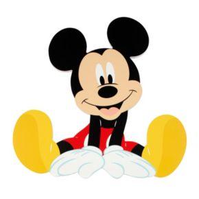 Disney's Mickey Mouse Shaped Wall Art