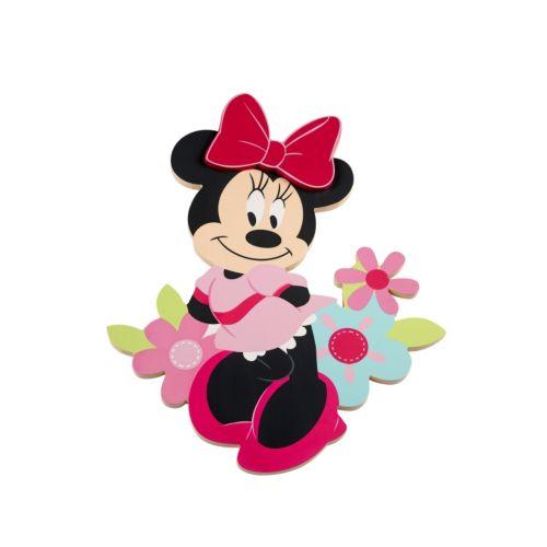 Disney's Minnie Mouse Shaped Wall Art