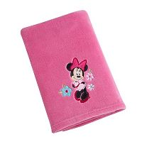 Disney's Minnie Mouse Appliqued Coral Fleece Blanket