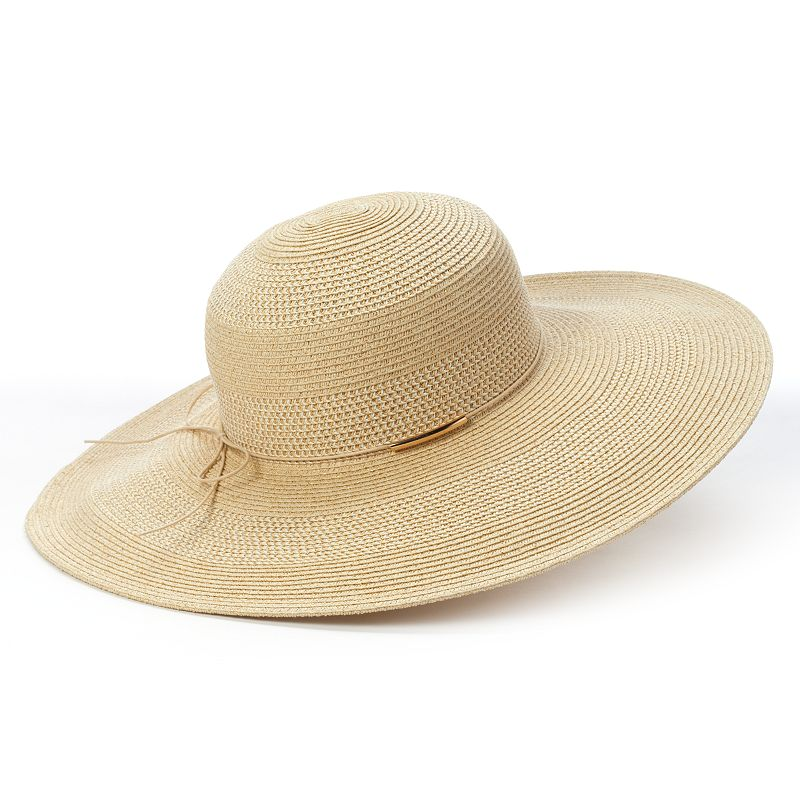 Cubs Floppy Hat: Womens White Hat