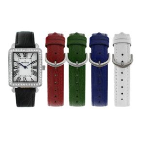 Peugeot Women's Watch & Interchangeable Leather Band Set - 677S