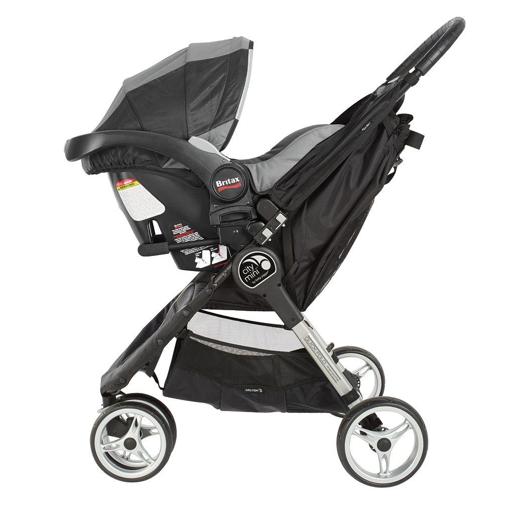 Britax/BOB Single Car Seat Adapter for Baby Jogger City Stroller (City Mini, City Mini GT/Summit)