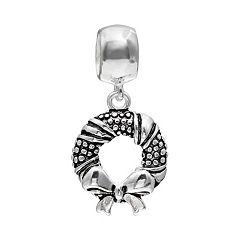 Individuality Beads Sterling Silver Wreath Charm