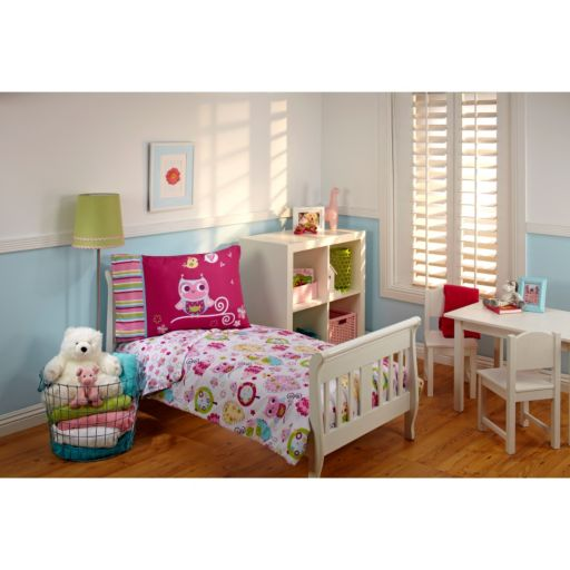 Everything Kids by NoJo Hoot Hoot 4-pc. Bedding Set - Toddler