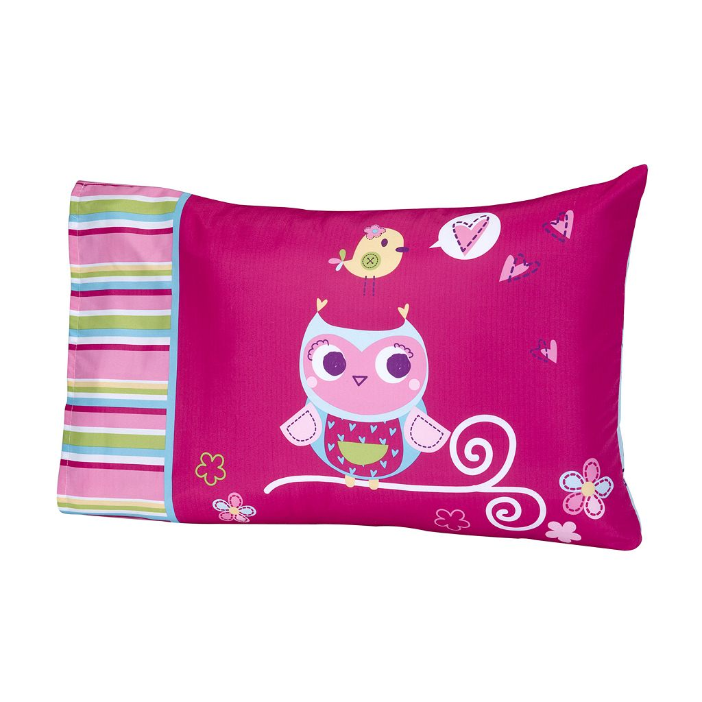 Everything Kids by NoJo Hoot Hoot 4-pc. Bedding Set - Toddler