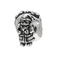 Individuality Beads Sterling Silver Santa Claus Bead