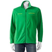Men's Columbia Oregon Ducks Flanker II Full-Zip Fleece
