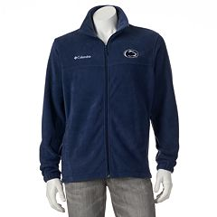 Men's Columbia Penn State Nittany Lions Flanker II Full-Zip Fleece