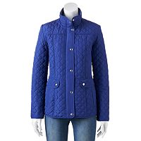 Women's Weathercast Cinch-Back Quilted Jacket