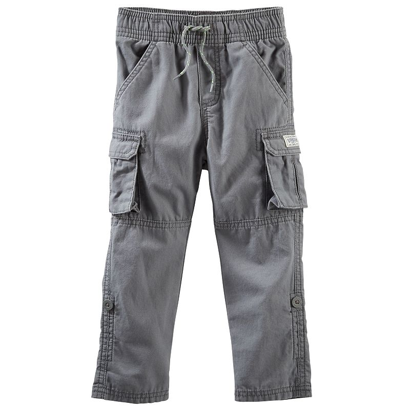 OshKosh B'gosh® Roll-Tab Convertible Cargo Pants - Toddler Boy